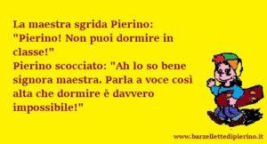 Barzellette di Pierino e la maestra