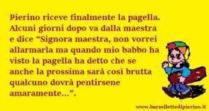 Barzelletta Pierino Maestra